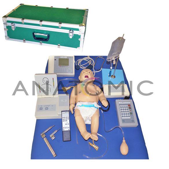 Manequim Bebê, Simulador para Treino de ACLS