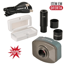 Câmera digital colorida 10.0 MP com software lente redução e lâmina padrão. - TA-0124-D