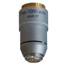 Objetiva Plana 100x (retrátil) - TA-0213-PL