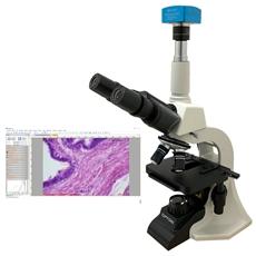 Microscópio Biológico Digital com Câmera de 5.0 MP - TNB-01-D