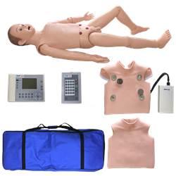Manequim Infantil, Bissexual, Simulador para Treino de Suporte Avançado ACLS - TGD-0534