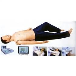 Manequim Simulador para Treinamento RCP, ECG, DEA e Intubação - TGD-4075-A