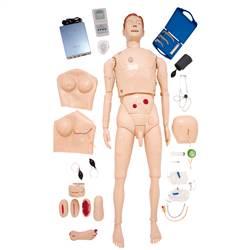 Manequim Bissexual, Simulador para Treinamento de Habilidades em Enfermagem e ACLS - TZJ-0512