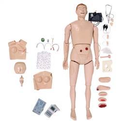 Manequim Bissexual, Simulador para Treino de Enfermagem e RCP - TZJ-0526